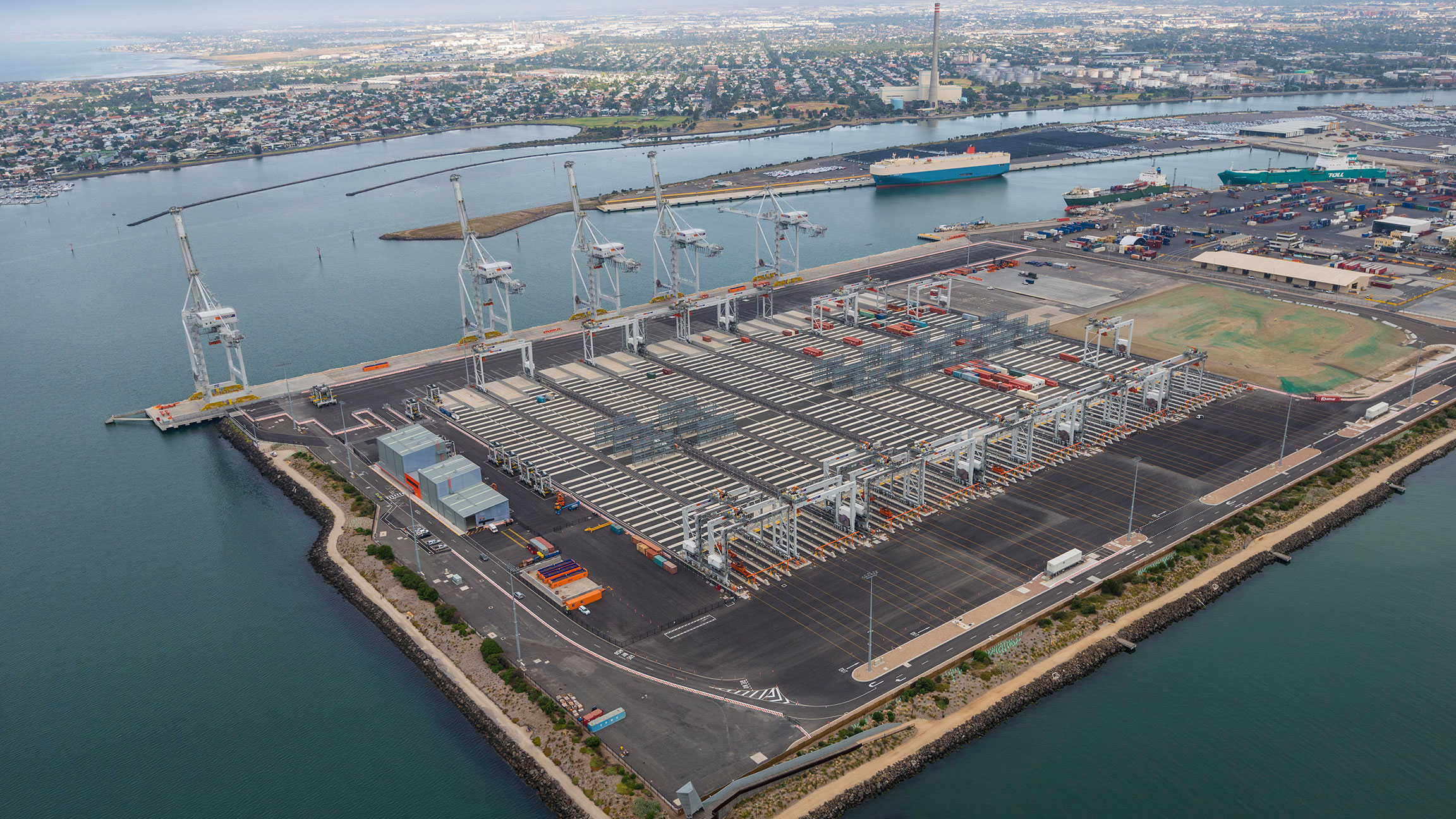 Victoria International Container Terminal - BMD Group